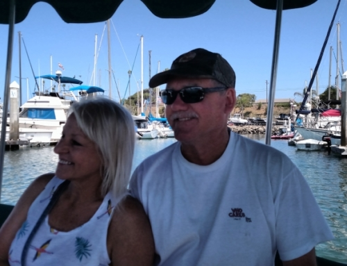 Jim and Sherry enjoying the cruise – Vista 2019